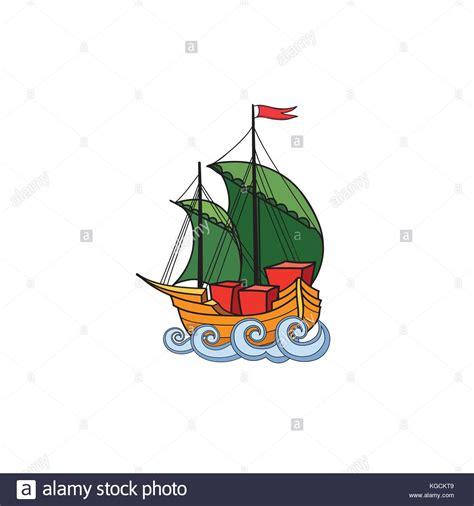 boat cartoon marine sail illustration boat ship cartoon stock photos sail