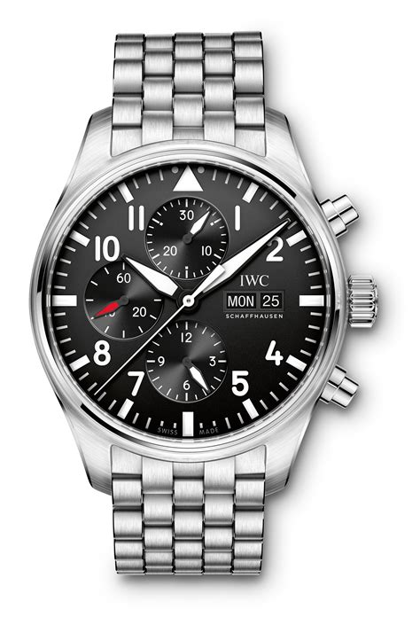 IWC Pilot's Watch Chronograph IW3777 2016