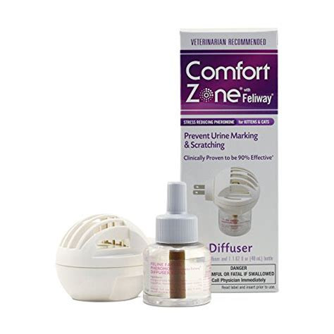 comfort zone cat diffuser comfort zone feliway diffuser kit for cat calming