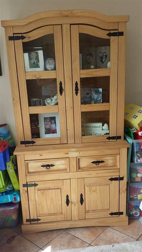 Corona Bookcase Mexican Pine Corona Wall Unit Welsh Dresser Great
