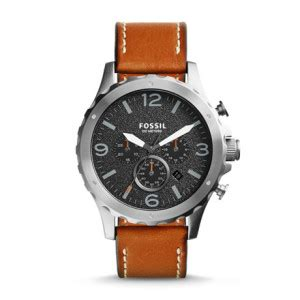 Jam Tangan Pria Leather Swatch jam tangan original fossil modern brown leather fs4929