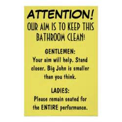 poster badezimmer clean bathroom posters zazzle