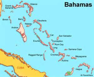 the bahamas map pigs of the caribbean longhorn of the caribbean