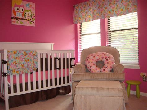 baby nursery girl room painting and decorating ideas pinky