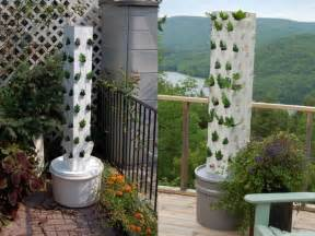 Planter Tower by Garden Up Plant Towers Make It Easy To Grown Your Own