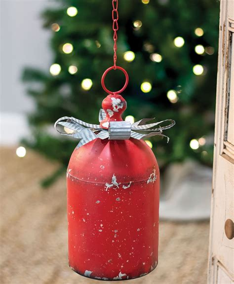 house designs wholesale rustic red bell craft