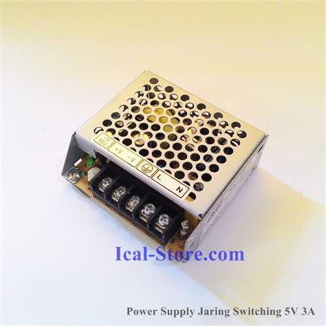 Adaptor Jaring 2 5 Ere 24 Volt power supply hse switching dc 5v 3a ical store ical store