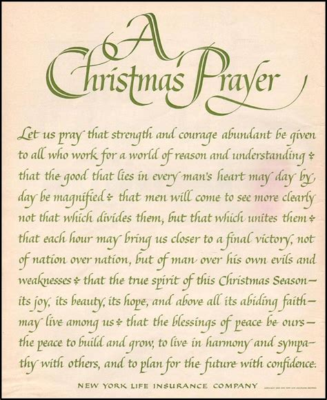 christmas invocation prayer prayers for family blessing prayers