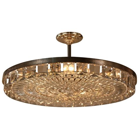 Chandeliers Flush Mount Large Flush Mount Chandelier At 1stdibs
