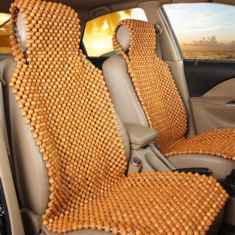 bead seat car wooden bead seat india velcromag