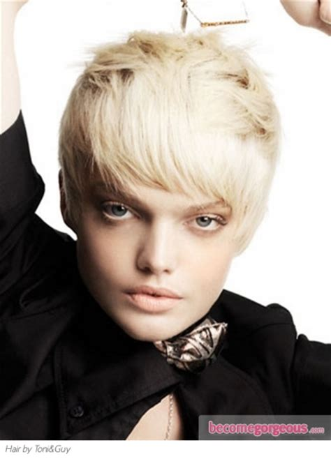 toni and guyshort hair cut toturial pictures short hairstyles lovely short pixie haircut