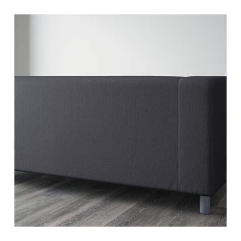 klippan sofa cover grey klippan two seat sofa flackarp grey ikea