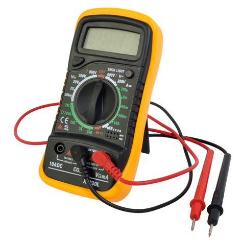 Probe Multimeter digital voltmeter ammeter ohmmeter multimeter volt ac dc