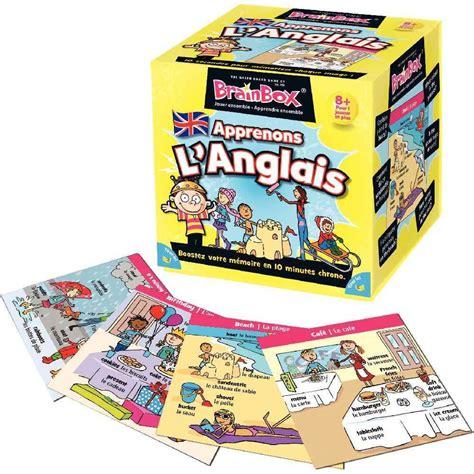 Asmodee Jeu De Societe Anglais asmodee jeu de soci 233 t 233 brainbox apprenons l anglais asmodee apprendre l anglais sur