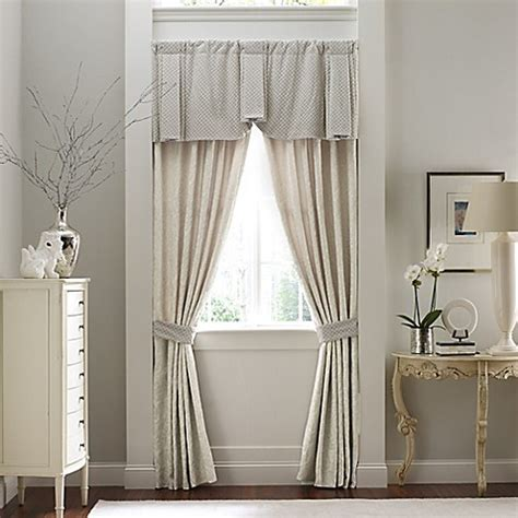 croscill window curtains croscill couture 174 rowling window curtain panel pair and