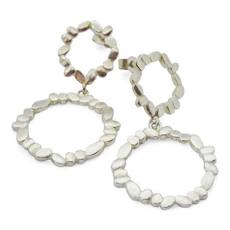 Circle Statement Earrings statement circle earrings fiona harris jewellery