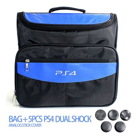 Sale New Travel Bag For Sony Ps4 Slim Tas Ps4 Slim accessories for ps4 ps4 slim bag travel carry shoulder bag for sony ps4 vr playstation 4