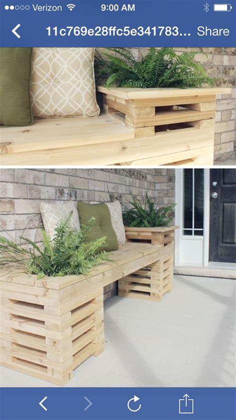 Idee Deco Petit Jardin 3418 by Pallet Bench Home Balcons Bonnes Id 233 Es Et