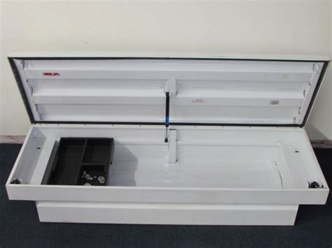 delta chion truck tool box lot detail metal delta tool box fits in your pickup