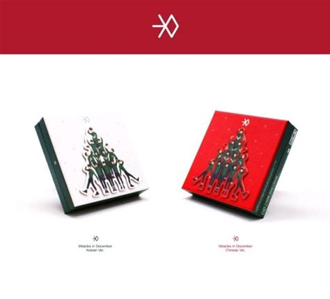 exo winter special album miracles in december korean yesasia exo winter special album miracles in december