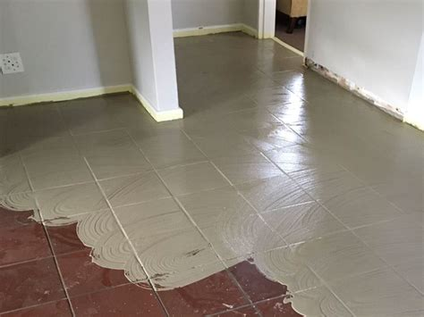 LEVELiTE applied over ceramic tiles   Installation guide