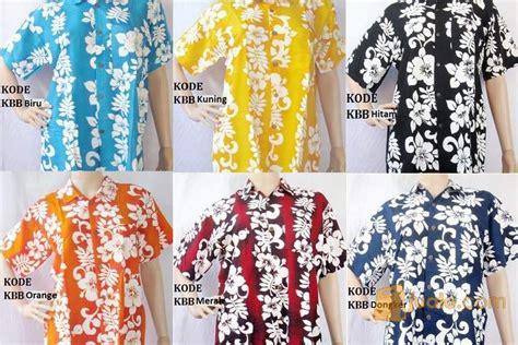 Baju Buat Ke Pantai Pria kemeja bali bunga baju pantai khas bali denpasar jualo