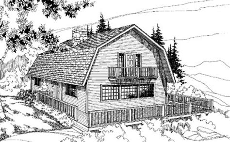 barn shaped house plans barn shaped gambrel room 7884ld 1st floor master suite