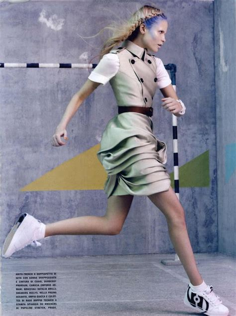 Trend Sporty Bglam by Vogue Italia Editorial Glam Sporty March 2010 13