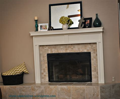 Diy Fireplace Mantels by How To Build A Fireplace Mantle Surround Phase 2