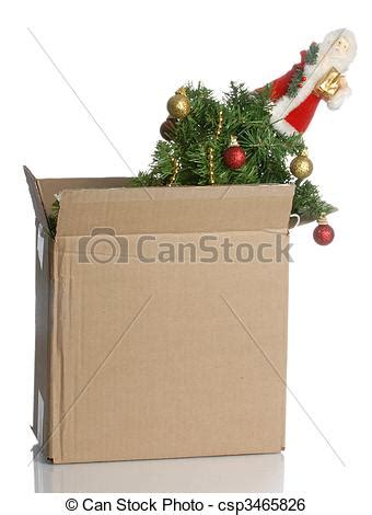 no christmas tree this year tree packed up in a box no this year stock image search photos and photo