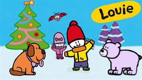 imagenes de invierno dibujos animados louie dibujame el invierno y la navidad compilaci 243 n