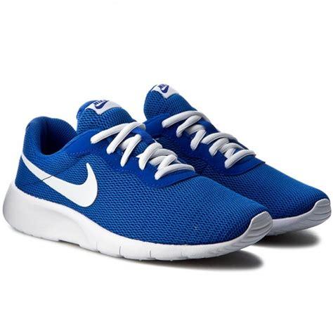 Nike Tanjun Royal White Original Shoes Nike Tanjun Gs 818381 400 Royal White