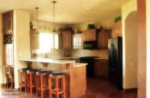 How To Decorate Kitchen Cabinets Creative Juices Decor House Tour Part Two Tuscan Themed
