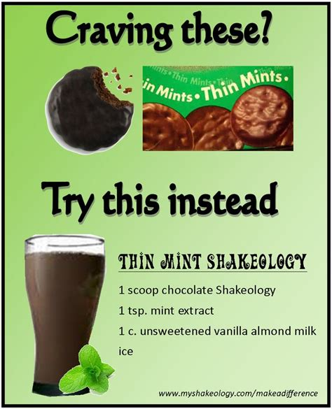 Thin Mint Recipe And All by Fitnesswithlaurenmorley Thin Mint Shakeology Recipe Www