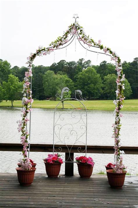 wedding arch   hobby lobby flowers and crystals   michaels