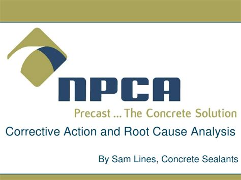 Capa A Five Step Plan corrective and root cause analysis