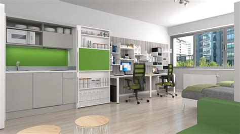 Student Apartment Complex Revitalizes Space Efficiency Student Apartment Lofts And Students student small apartment configuration with kitchen home decorating trends homedit