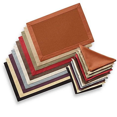 placemats bed bath and beyond jubilee placemat and napkin bed bath beyond