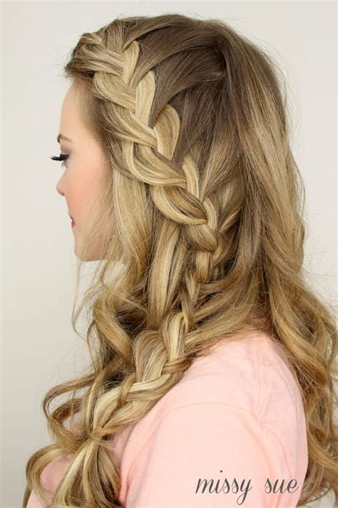 2015 prom hairstyles half up half down prom