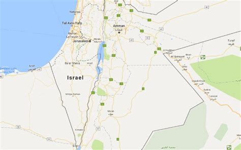 google israel google says palestine was never on google maps after