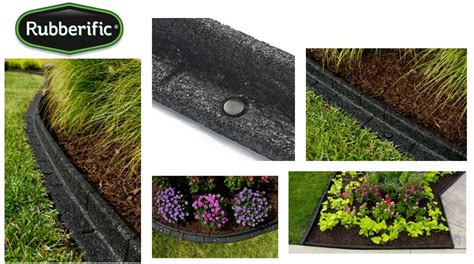 rubber st border rubberific debuts new premium landscape edging imc