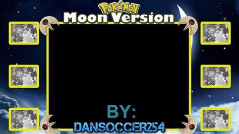 layout youtube game boy pokemon moon version layout speed art youtube