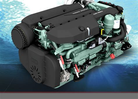 volvo penta marine engine volvo penta unveils new commercial marine engine pacific