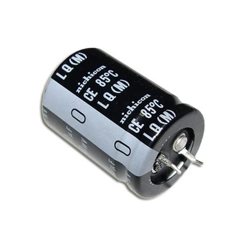 capacitors nichicon llq2g181mhsa nichicon capacitor 180uf 400v aluminum electrolytic snap in 2020000575