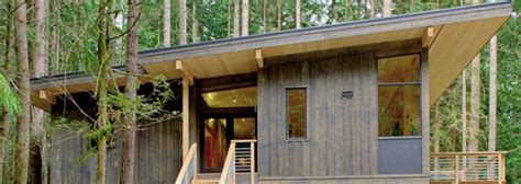 Method Homes Cabin by Prefab Friday Method Home S Completed Cabin Inhabitat