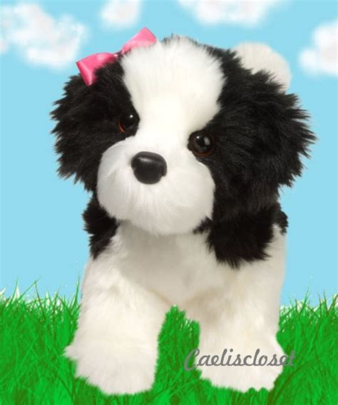black shih tzu stuffed animal 10 images about douglas cuddle toys on puppys toys and ponies