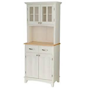 small kitchen buffet cabinet small buffet server with hutch white 6004059 hsn