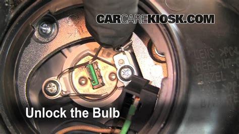 Kia Sedona Headlight Bulb How To Change A Burnt Out Headlight Light Turn Signal