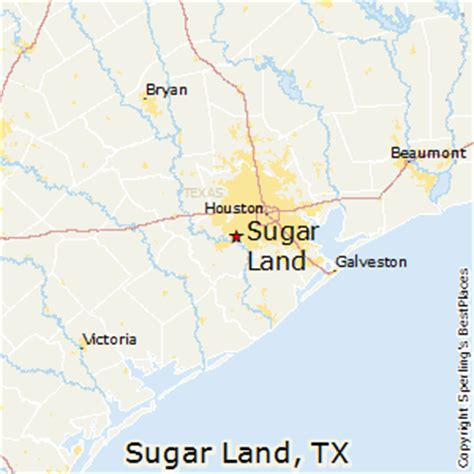 sugar land texas map best places to live in sugar land texas