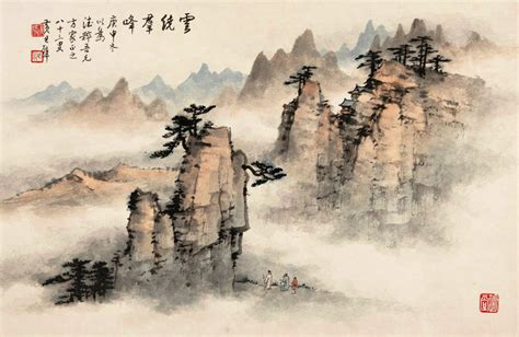 china painting paintings of nature www pixshark images